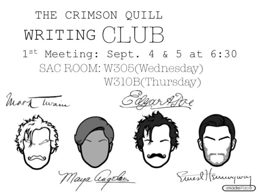 Writing Club Advertisement!